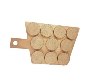 Wholesale wind turbines: CHina OEM Wind Turbine Brake Pad  Caliper Sintered Brake Pads