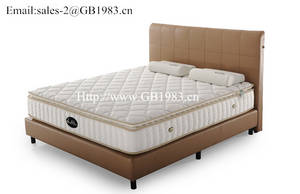 Wholesale hotel comfort pillows: Pillow Top Latex Mattress for Hotel and Home Soft and Comfortable