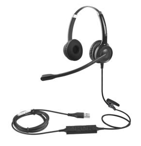 Wholesale call center headset: CS12 USB Call Center Headset Noise-cancelling