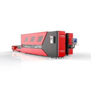 Wholesale construction safety equipment: Full Cover Fiber Laser Cutting Machine with Exchange Table 1kw 2kw 3kw