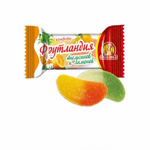 Wholesale Candy: Frutland Oranges and Lemons Russia Candy