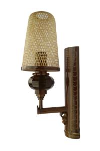 Wholesale Bamboo Crafts: Bamboo Light Lamp