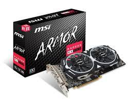 Wholesale Graphics Cards: MSI VGA Graphic Cards RX 580 ARMOR 8G OC