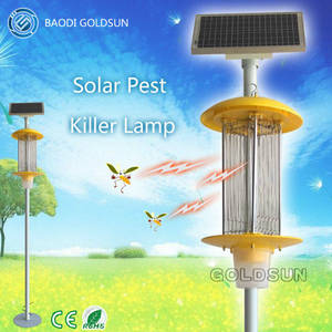 Wholesale insect killer: New Design Professional DC Solar Insect Killer Light China Factory
