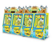 Adventure Castle Ticket Redemption Series Coins Operated Arcade Machine Game Coins Push Frame 2p
