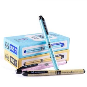 Wholesale gel pens: 0.5mm Refill with Diamond Top Pen Set Plastic Color Erasable Gel Pen