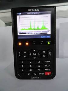 Wholesale nec battery: WS6912 Satellite Meter & Real Time Spectrum Analyzer