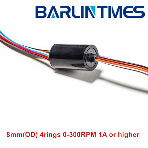 uav: Sell capsule slip ring with 8.3mm(OD) 4circuits 1A for CCTV,robot, UAV,rotary ta