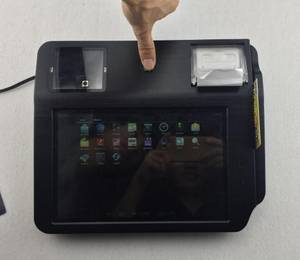 Wholesale credit card terminal: 10.1 Inch Android Pos Terminal ,Multi Core ARM Cortex-A9 CPU