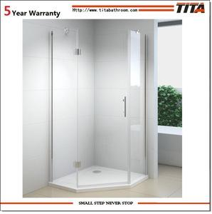 Wholesale frameless: One Person Diamond Frameless Shower Room with Base Tray 3063