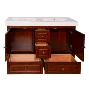 Wholesale basin: Integrated Basin Classic Bathroom Vanity Cabinet