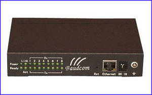 Wholesale bd remote control: 8Channel Serial To Ethernet Converter
