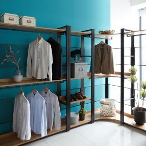 Wholesale Bedroom Furniture: Design/ Modern Furniture, Home/Office Using Metal/ Wood Display Wardrobe/ Dresser in Korea