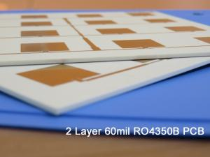 Wholesale high frequency: RO4003C 60 Mil High Frequency PCB Immersion Gold and Without Soldermask and Silkscreen Color Require