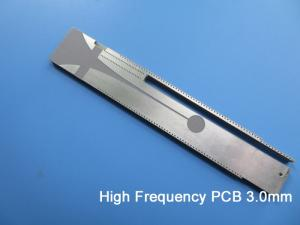 Wholesale ptfe: High Frequency PCB Built On 3.0mm PTFE F4B RF PCB Board for Filter