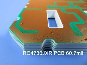 Wholesale low thermal conductivity: Rogers RO4730G3 60.7mil 1.542mm High Frequency PCB Celluar Base Station Antenna PCB