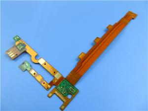 Wholesale data card: Multilayer Flexible PCB with Immersion Gold At 0.2mm Thick