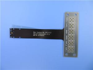 Wholesale led strip module: Single Layer Flexible Printed Circuit (FPC) with Stainless Steel Stiffener for Wireless Module