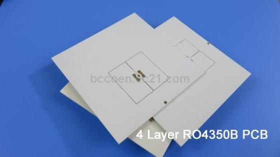 4 Layer High Frequency PCB Built On Rogers 32mil RO4003C