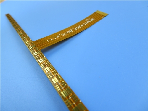 2 Layer Flex Printed Circuit Board (FPC) Built On Polyimide for Microstrip Antenna