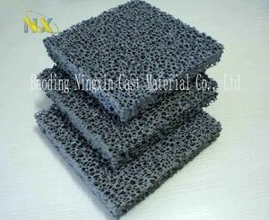 Wholesale foam silicone: Silicon Carbide Ceramic Foam Filter