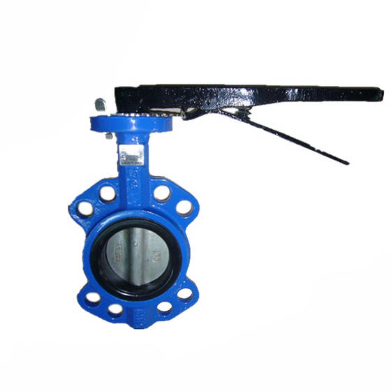 butterfly valve: Sell Wafer butterfly valve cast ductile iron butterfly valve with iron handle