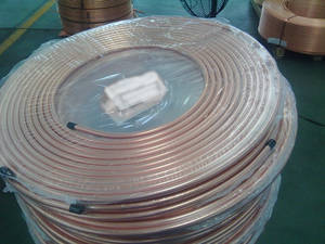 Wholesale coil pipe: Air Condition or Refrigerator Application and Pancake Coil Copper Pipe Type Refrigeration Copper
