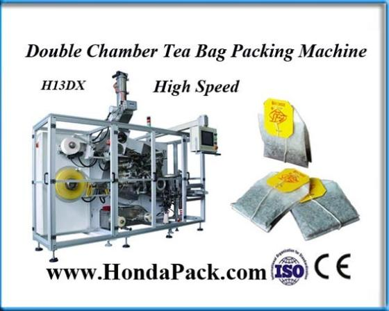 Automatic High Speed Tea Bag Packing Machine with Box Device System