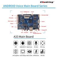 A33 Android AI Main Board for Robot and HIFI Speaker APP Control