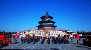 Wholesale wooden ruler: Temple of Heaven