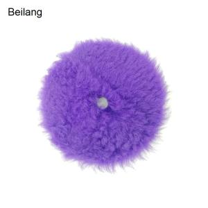 Wholesale lambs: Professional Rupes Style Auto Car Polishing Lamb Wool Compound Wash Buffing Pad for Car Polisher