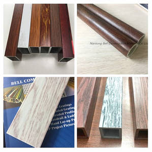 Wholesale pultruded profile: Wood Texture FRP Pultruded Profiles