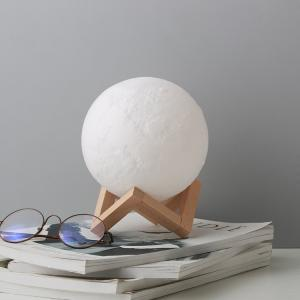 Wholesale decoration lamps: Home Decorative Light Dimmable Touch Control 3D Printing Moon Lamp