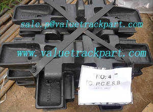 Wholesale manitowoc 10000 track shoe: Nippon Sharyo DHP80 Undercarriage Parts Track Shoe Assembly