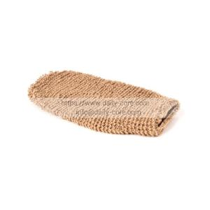 Wholesale mitt: Exfoliating Natural Hemp Bath Mitt DC-BM001