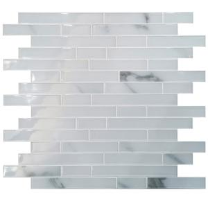 Wholesale pvc sheets for waterproofing: Self Stick Wall Tiles for Kitchen, Bathroom, Backsplash Decoration