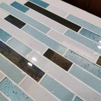 Wall Sticker Tile Easy To Install for Kitchen,Backsplash,Bathroom