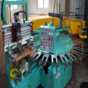 Wholesale screen printing machine: Gloves Rotary Screen Printing Machine