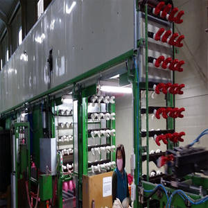 Wholesale latex coated gloves: Latex Coating Machine for Full Coating Cotton Gloves.