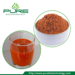 Wholesale tea canister: Goji berry powder freeze dried
