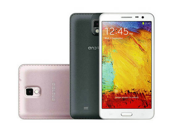 Sell Chinese Note3 N9000 N9005 MTK6589 Quad Core Android 4.3 Single Card 5.7 inc