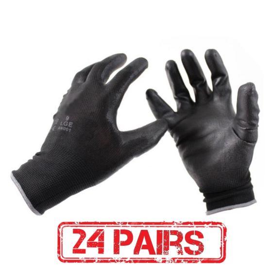Sell Women Men 13 Gauge Breathable White Nylon Coated Polyurethane Safety Work P