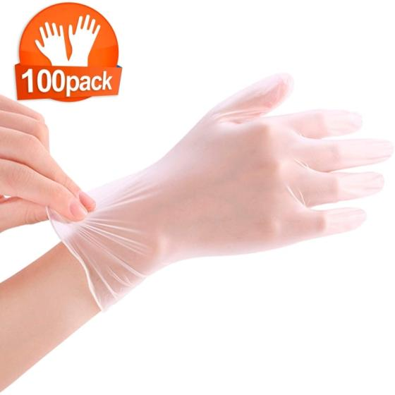 Sell One time vinyl disposable plastic medical hand gloves