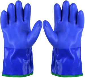 Wholesale protective: Sbamy Seamless Cotton Liner Finishing Protective PVC Glove