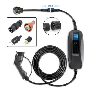 Wholesale car electric cable: 32A EV Charging Cable EVSE Portable Charger for Electric Car