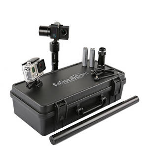 Wholesale gimbal head: STEADYGIM3 Pro Stabilizer + GoCam 4K Action Camera Deluxe Edition