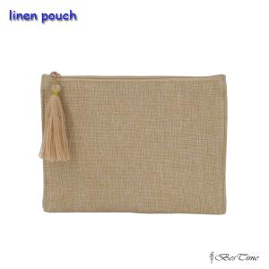 Wholesale cosmetic bags: Linen Pouch Jute Cosmetic Makeup Bags