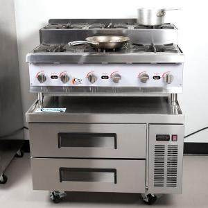 Wholesale cooking plate: Cooking Performance Group 36rsurbnl 36 Gas Countertop Step-up Range / Hot Plate