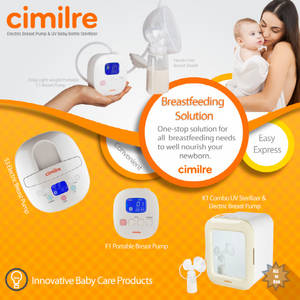 Wholesale pump: Breast Pump and Sterilizer