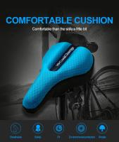 CoolChange Bicycle Seat Cover Sponge Bike Saddle Road Cycling Seat 3 Colors